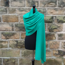 Longstone Supersoft Wrap Ming Green
